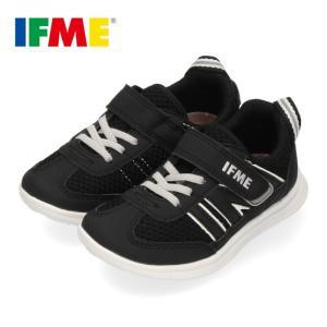 スニーカー イフミー キッズ IFME Light シューズ 22-9710 BLACK ブラック ジュニア 子供靴 ベルクロ 軽量 washington