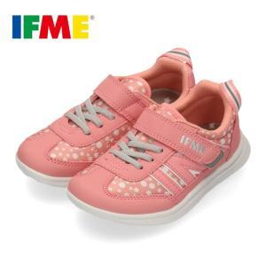 スニーカー イフミー キッズ IFME Light シューズ 22-9727 PINK ピンク ジュニア 子供靴 ベルクロ 軽量 washington
