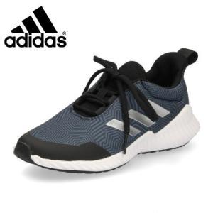 adidas アディダス 靴 G27159 スニーカー FortaRunX 2 K キッズ ジュニア 子供 スポーツ ランニングシューズ ブラック ブルー|washington