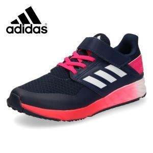 adidas アディダス 靴 G27382 スニーカー アディダスファイト EL K キッズ ジュニア 子供 ランニングシューズ ネイビー|washington
