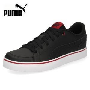 PUMA プーマ キッズ レディース コートポイント VULC V2 BG 362947-17 ブラック スニーカー 靴 カジュアル|washington