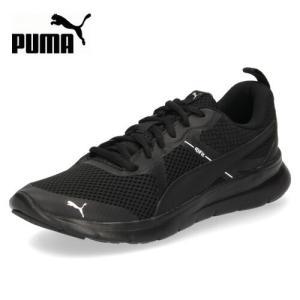PUMA プーマ メンズ レディース スニーカー フレックス エッセンシャル コア Flex Essential Core 369989-07 ブラック 靴|washington