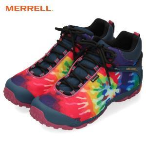 メレル カメレオン7 ストーム ミッド ゴアテックス J599645 タイダイ MERRELL GORE-TEX メンズ トレッキングシューズ 靴 マルチカラー washington