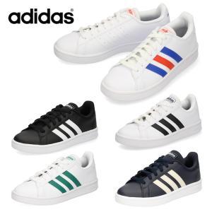adidas アディダス メンズ レディース スニーカー グランドコートベース EE7900 EE7901 EE7904 ブラック ホワイト|washington