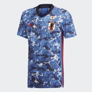 ギフトバッグ付き アディダス サッカー 日本代表 2020 ホーム ジャージー トゥルーブルー GE...