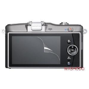 OLYMPUS PEN E-PL3 PL5 E-PM1 PM2デジタルカメラ専用 液晶画面保護シール 503-0005A|washodo