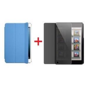 ipad mini Retinaディスプレイモデル/ipad mini用 Smart Cover スマートカバー&覗き見防止液晶保護フィルム2点セット「504-0018+504-0004」