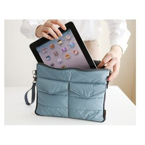 Ipad2/ipad3(第3世代)/ipad4(第4世  代)/ipad mini/ipad mini Retina タブレット用 柔らか収納バッグ ケース   3色「504-0024」|washodo