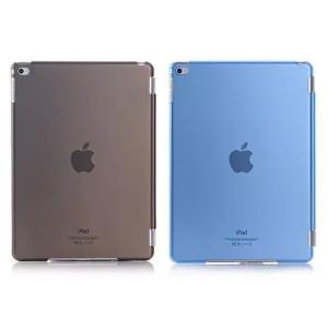 アイパッド apple ipad mini 4専用 SmartCover同時装着ケース 半透明カバー 2色「504-0054」|washodo
