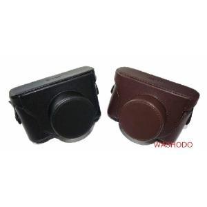 FUJIFILM X20 , X10 デジタルカメラ用 合成革ケース 2色「510-0032」