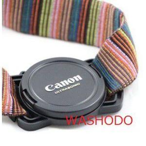 一眼レフカメラ レンズキャップホルダー「517-0003」|washodo