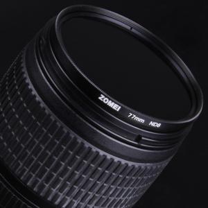 「Zomei」ドイツSCHOTTガラス使用 カメラ用フィルター   ND8 光量調節用 減光フィルター 7種類(55mm/58mm)(517-0028)|washodo