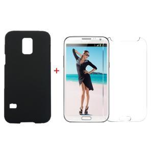 サムスン Samsung Galaxy S5 mini  磨き砂面 携帯用ケース スマートフォン保護カバー&透明液晶保護フィルム2点セット 2色「521-0039+521-0031-01」