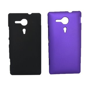 ソニー SONY Xperia SP C5303 M35h専用 磨き砂面 携帯用ケース スマートフォン保護カバー 2色「522-0010」|washodo