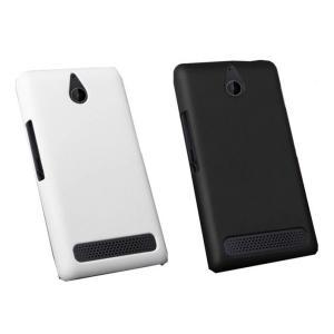 ソニー Sony Xperia E1 Dual D2105 磨き砂面 携帯用ケース スマートフォン保護カバー 2色「522-0030」|washodo