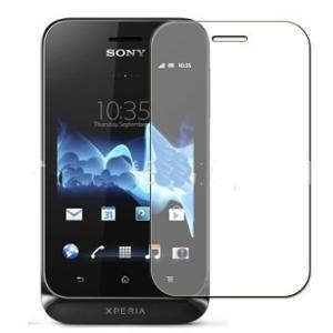 ソニー Sony Xperia tipo ST21i専用 指紋防止 気泡が消える液晶保護フィルム 光沢タイプ クリアーシール「522-0043-01」|washodo