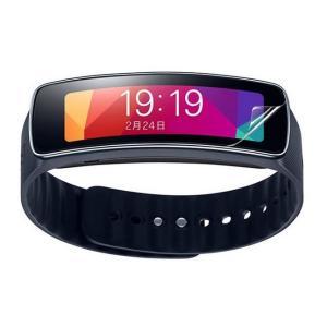 サムスン Samsung Galaxy Gear Fit専用 ウルトラ衝撃吸収 指紋防止 反射防止 液晶保護フィルム 高級ソフトナノ「529-0004-01」|washodo