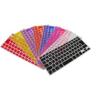 Apple Macbook Pro 13インチ 専用 日本語キーボードカバー 防塵 防水 キズ防止  シリコンタイプ 9色 JIS配列 570-0002|washodo