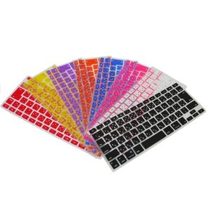 Apple Macbook Retina 15インチ 専用 日本語キーボードカバー 防塵 防水 キズ防止  シリコンタイプ 9色 JIS配列 570-0002 washodo