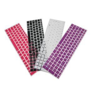 Lenovo レノボ Thinkpadシリーズ 15インチノートパソコン用 英字配列 キーボード保護カバー 防水 キズ防止 シリコンタイプ 5色|washodo
