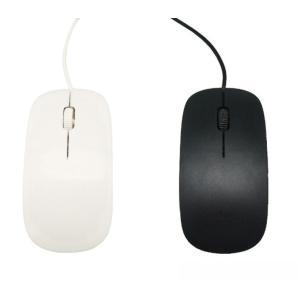 「washodo」小型 有線光学式 マウス 軽量 オプティカルマウス USB接続 省エネ 簡易包装 2色 570-0006|washodo