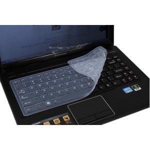 Lenovo レノボ Ideapad 100シリーズ 14インチノートパソコン用 英字配列 キーボード保護カバー 防水 キズ防止 シリコンタイプ 5色|washodo