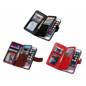 【BRGブランド】財布一体型携帯ケース iphone6plus/iPhone6s plus 各種類対応 アイフォン合成革保護カバー 手帳型 3色 570-0018|washodo