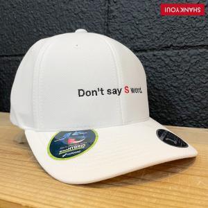 SHANK YOU! ゴルフ キャップ「Don't say S word」ホワイト 0200054 wasistockts