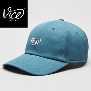 【海外モデル】VICE DAD CREW BLUE|ゴルフ キャップ 帽子 ドイツブランド|wasistockts