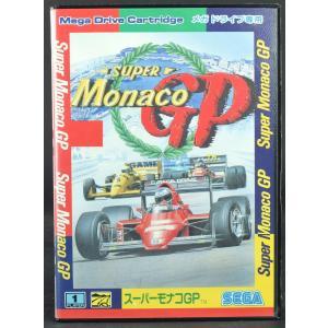 MD スーパーモナコGP 箱 説明書あり メガドライブ セガ 中古 SUPER Monaco GP|wasou-marron