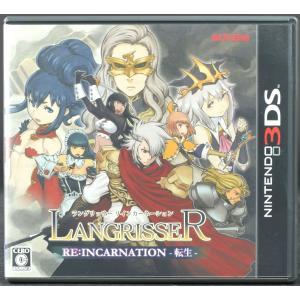 【中古】3DS ラングリッサー リインカーネーション 転生 ソフト・ケース  NINTENDO3DS|wasou-marron
