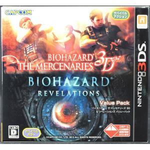 【中古】3DS バイオハザード ザ・マーセナリーズ3D&リベレーションズ ソフト・ケース  NINTENDO3DS|wasou-marron