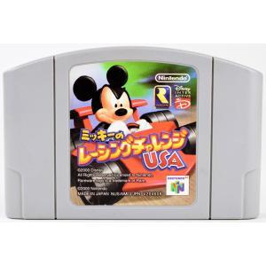 N64 ミッキーのレーシングチャレンジUSA ソフト ニンテンドー64 中古|wasou-marron