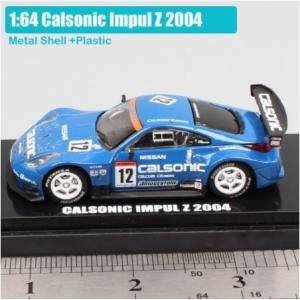 1: 64 スケール京商日本スーパー GT JGTC 日産カルソニックスカイライン GTR Motu...