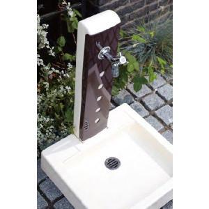 立水栓 水栓柱パンセット  水栓柱 トリム ドット ガーデンパン トリムII ※蛇口無し wasou