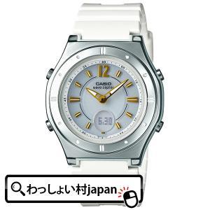 WAVE CEPTOR ウェーブセプター  CASIO カシオ カシオ 電波ソーラー LWA-M142-7AJF レディース 腕時計 国内正規品