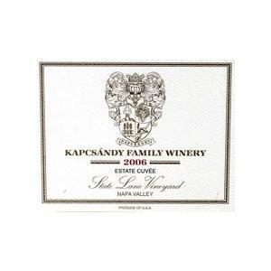 キャプサンディ エステートキュベ (2006) 赤ワイン|wassys