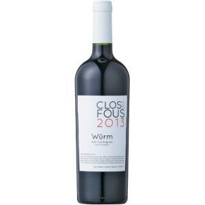 ■クロ デ フ グールム (2013) 赤 750ml  Clos des Fous Wurm (2013) 赤ワイン|wassys