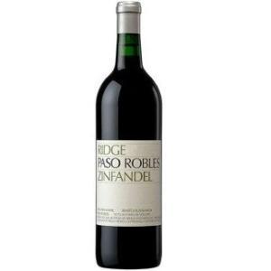 (正規品) リッジ パソ ロブレス ジンファンデル (2015) Ridge Paso Robles Zinfandel (2015) 赤ワイン|wassys