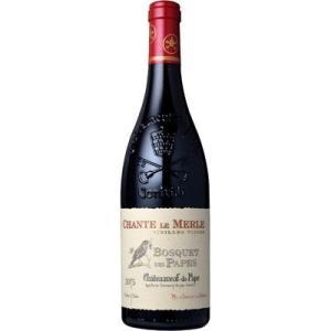 ■ドメーヌ ボスケ デ パプ シャトーヌフ デュ パプ シャント ル メルル V.V. 赤 (2015) 赤 750ml  赤ワイン wassys