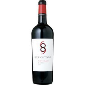 シックス エイト ナイン セラーズ 689 ナパ ヴァレー レッド 2016 赤ワイン|wassys