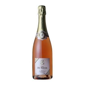 ゾエミ ド スーザ ロゼ ブリュット ディスタンゲ NV スパークリング シャンパン|wassys
