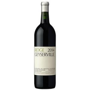 正規品 リッジ ガイザーヴィル 2014 ハーフ 375ml 赤ワイン|wassys