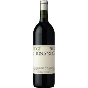 (ポイント6倍 9月30日13時まで) 正規品 リッジ リットン スプリングス 2015 ハーフボトル 375ml 赤ワイン|wassys