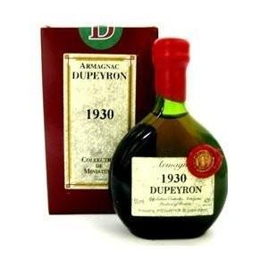 (ポイント6倍 9月30日13時まで) デュペイロン ヴィンテージ アルマニャック 1930 ミニチュアボトル 50ml wassys
