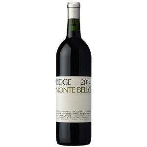 (ポイント6倍 9月30日13時まで) 【正規品】 リッジ モンテ ベロ 2014 赤ワイン|wassys