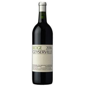 (ポイント6倍 9月30日13時まで) 【正規品】リッジ ガイザーヴィル 2016 赤ワイン|wassys