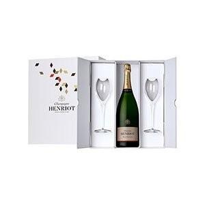 ■ アンリオ ブリュット スーヴェラン(ロゴグラスセット) NV 白ワイン|wassys