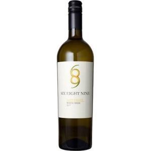 ■ シックス エイト ナイン セラーズ ナパ ヴァレー ホワイト 2017 白ワイン|wassys