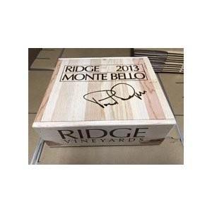 ワイン木箱 リッジ・モンテベロ (30×35×12)【木箱以外の商品との同梱不可】|wassys
